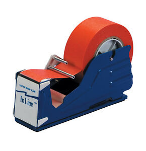 Tape Logic Multi Roll Table Top Dispenser 2 Blue 1 each Sl7326