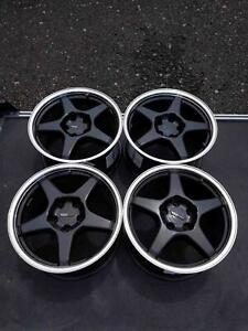 Set 4 Of Replica Wheels 1987 Chevy Corvette 17 Tires Not Included
