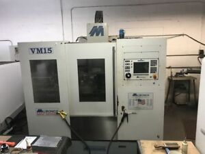 Milltronics Vm 15 Series C Cnc 3 Axis Vertical Machining Center