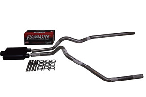 Ford F150 04 14 2 5 Dual Exhaust Flowmaster Super 44 Muffler