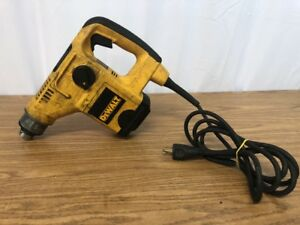 Dewalt D25404 1 1 8 Sds Rotary Hammer Drill Drilling 1 2 Parts As Is