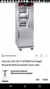New Cres Cor Cook And Hold Oven Heated Holding Cabinet Hot Box Warmer