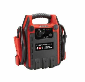 Cen Tech 4 In 1 Jump Starter W Air Compressor Ships Free