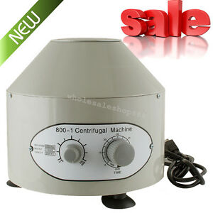 Practical Electric Centrifuge Machine Lab Medical Practice 800 1 4000rpm 20mlx6