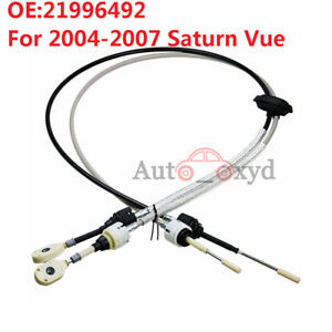 21996492 New Manual Transmission Shift Cable For 2004 2007 Saturn Vue 2 2l 2 5l