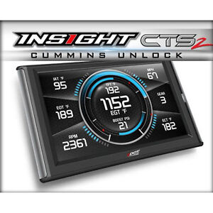 Edge Insight Cts2 Monitor Unlock Cable For 2013 2018 Dodge Ram 6 7l Cummins