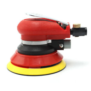 5 Air Palm Orbital Sander Random Hand Sanding Pneumatic Round Polisher