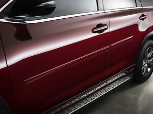 2014 2018 Toyota Highlander Body Side Moldings Pt938 48141 xx