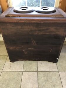 Antique Ice Cream Chest freezer