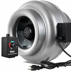 Ipower 10 Inch 862cfm Inline Duct Ventilation Fan And Variable Speed Controller
