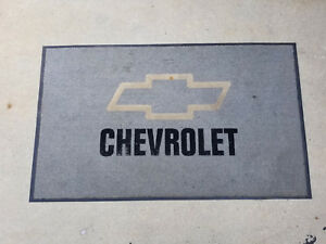Chevrolet Dealership Showroom Floor Mat 3ft X 5ft Used