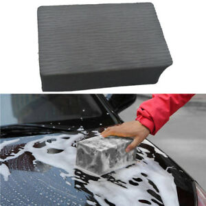 Car Cleaning Eraser Magic Clay Bar Pad Sponge Auto Detailing Wash Cleaner