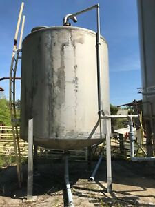 Paul Mueller Company 4000 Gallon Stainless Steel Tank