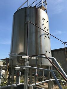 12000 Gallon Stainless Steel Tank Paul Mueller Company