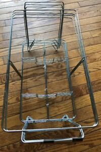 Chafing Dish Buffet Chafing Food Warmer Wire Frame Stand Rack Full Size 4 Pack