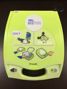 Zoll Aed Plus New Case New Batteries And New Pads Recertified