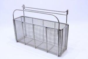 Aesculap Sterilization Wire Basket 18 1 2 X 5 X 8 3 4h 12 1 2 To The Top