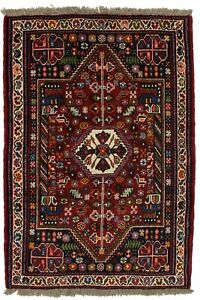 Beautiful Handmade Tribal Small Qashqai Persian Rug Oriental Area Carpet 3 6x5 3
