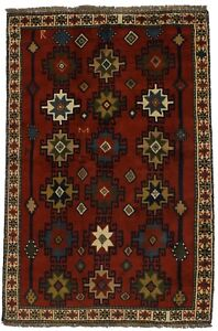 Delightful Hand Knotted Signed Ghoochan Persian Rug Oriental Area Carpet 4x6