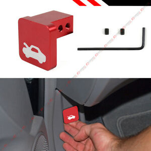 For Honda Civic Cr V Element Ridgeline Hood Release Pull Latch Handle Opener Red