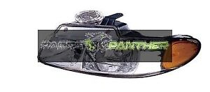 For 1998 1999 Driver Side Dodge Caravan Front Headlight Assembly Replacement