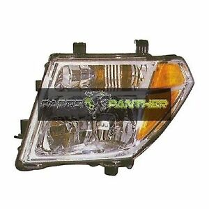 For 2005 2007 Driver Side Nissan Pathfinder Front Headlight Assembly