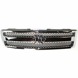 For 2007 2011 Chevrolet chevy Silverado Grille Assembly 2010 2009 2008