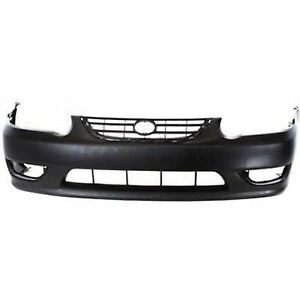 For 2001 2002 Toyota Corolla Front Bumper Cover