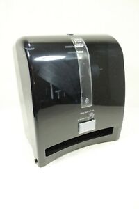 Tork Intuition Automatic Commercial Hand Towel Dispenser H1 Black tinted nib