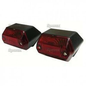 Allis Chalmers Compact Tail Light Set 72094112