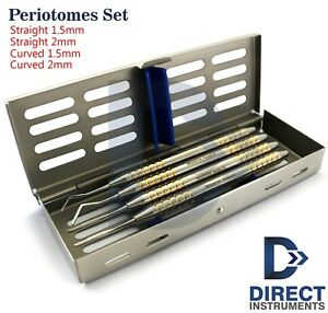 Dental Periotomes Atraumatic Extraction Periodontal Ligament Pdl Cut Cassette