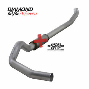 Diamond Eye 5 Turbo Back Exhaust For 2004 5 2007 Dodge 5 9l Cummins K5238a rp