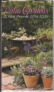 Patio Gardens 2014 2015 2 Year Pocket Planner Calendar