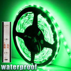 12v Waterproof Led Strip Light 5m 300 Led For Boat Truck Car Suv Rv Green