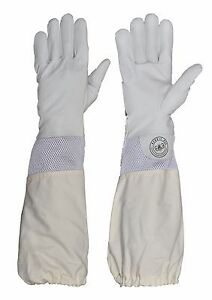 Humble Bee 112 Beekeeping Gloves With Ventilated Cuffs large