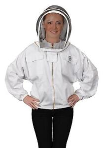 Humble Bee 311 l Polycotton Beekeeping Jacket With Fencing Veil