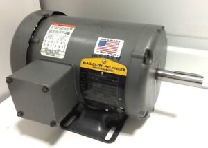 New Baldor 0107563668 75hp 3 4hp Ac Electric Motor 56 230v 460v 1725rpm