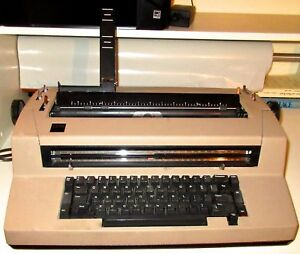 Ibm Selectric Iii Correcting Multi font Typewriter Working Guc needs Adjustment