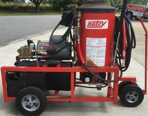 Used Hotsy 970 Hot Water 1ph Diesel 4gpm 2000psi Pressure Washer