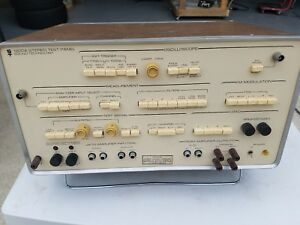 Sound Technology 1200a Stereo Test Panel as is Untested