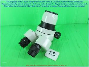 Motic Smz 140 Zoom Microscope Without Eyepiece As Photo Sn 1314 D m Nic