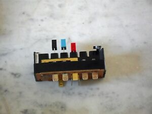 802005013 3 Button Switch Color Coded