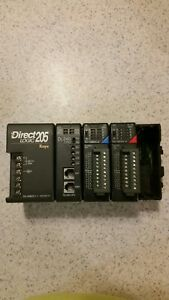 Direct Logic 205 Koyo Dl240 Cpu I o Extra Slot Plc