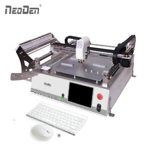 Cheap Smt Pick And Place Machine With Vision System 23 Feeders Neoden3v std Smd