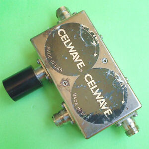 1pc Only Used Good Celwave 048156900 851 886mhz N Coaxial Double Isolator