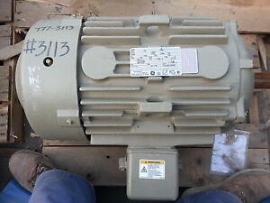 G E 30 Hp 3 Ph 460 Electric Motor Extra Severe Duty New
