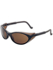 Uvex Bandit Series Wraparound Anti fog Safety Glasses Espresso Lens Pair