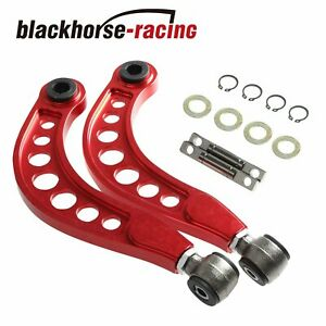 Red Rear Camber Control Arm Correction Kit For Honda Civic 1 8l 2 0l 2006 15