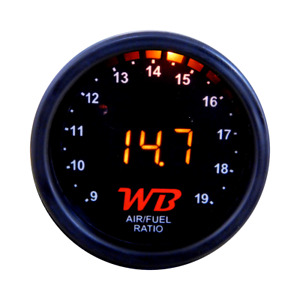Wb D2 Wideband O2 Air Fuel Ratio Controller Gauge Black Orange No Sensor