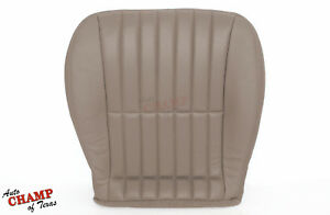 2000 2001 Chevy Camaro Convertible driver Side Bottom Leather Seat Cover Tan